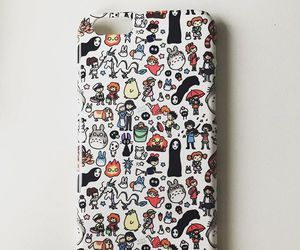 anime, redbubble, and totoro image