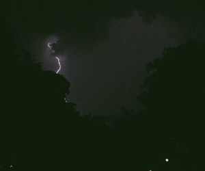 lightening, weather, and lightening bolt image