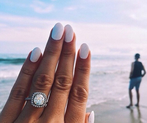 bride, fashion, and ring image