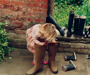 child, boots, and kids image