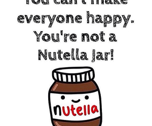 nutella, happy, and chocolate image