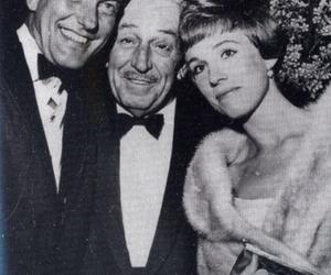 walt disney and julie andrews image
