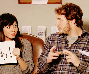 aubrey plaza, parks and recreation, and parks and rec image