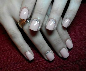 classic, luxury, and nails image