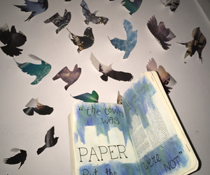 birds, paper towns, and papertowns image