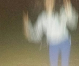 blur, blurred, and girl image
