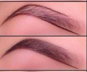 brown, makeup, and sejas image
