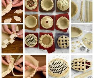 food, pie, and diy image