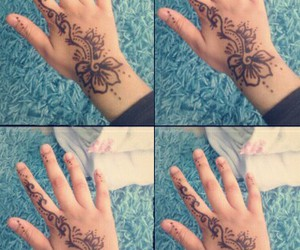 bollywood, henna, and malen image