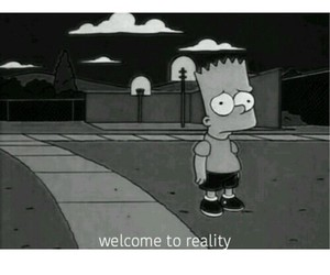 simpsons and reality image