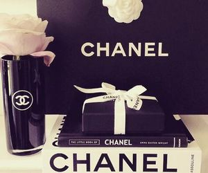 chanel, luxury, and black image