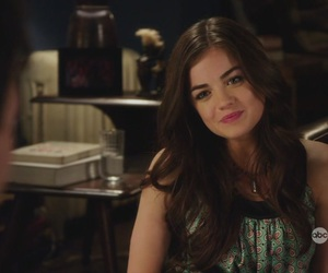 lucian, lucy hale, and pretty little liars image