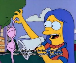 the simpsons, simpsons, and bra image