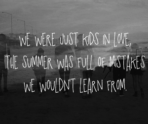 love, summer, and quote image