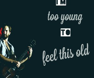 band, caleb followill, and quote image