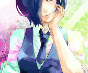 anime, k i r i s h i m a, and t o u k a image