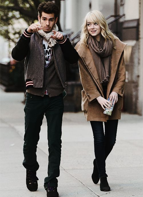Andrew Garfield And Emma Stone Style Icons Off Duty Pinterest