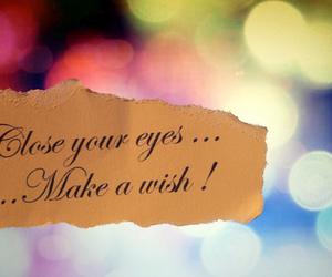 wish, christmas, and eyes image