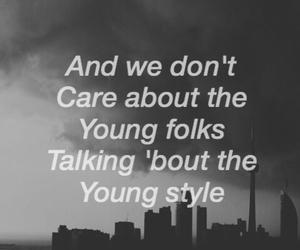 background, grunge, and Lyrics image