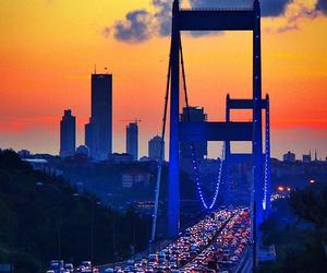 asia, bridge, and city image