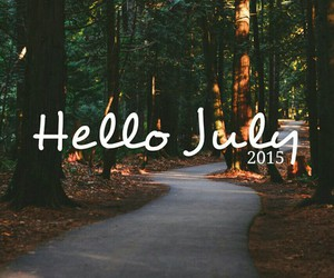 july, summer, and hello july image