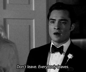 gossip girl, chuck bass, and leave image
