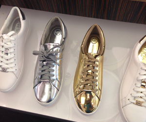 gold, shoes, and silver image