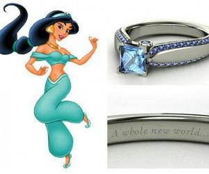 disney, ring, and princess image