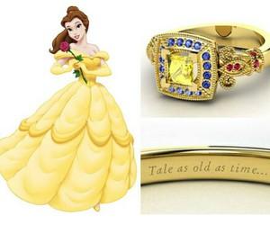 disney, princess, and ring image