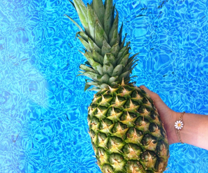summer and pineaple image