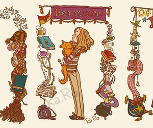 ginny weasley, girls, and harry potter image