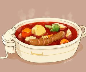 animation, soup, and anime image