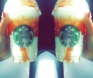 caramel, delicious, and drink image