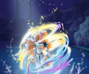 Odette, the swan princess, and princess image