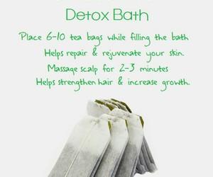 beauty, tips, and detox bath image