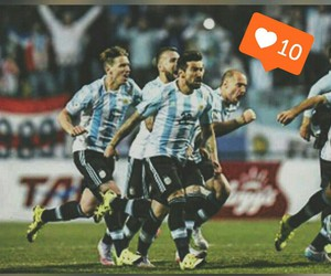 argentina, messi, and semifinal image