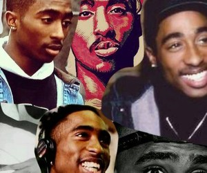 2pac, tupac, and king image