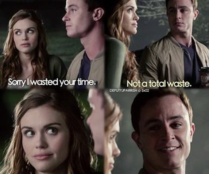 lydia, teen wolf, and parrish image