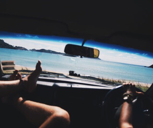 summer, car, and friends image