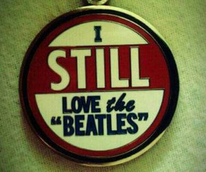 the beatles, love, and 60s image