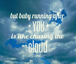 cloud, Lyrics, and quotes image