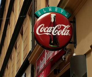coca-cola, cocacola, and drink image