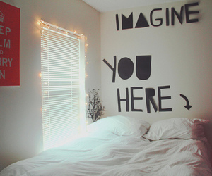 imagine, bed, and you image