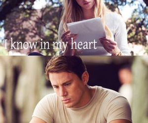 love, dear john, and heart image
