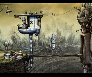 fantasy, robots, and steampunk image