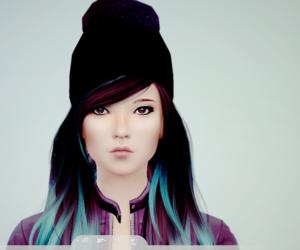 cool, girl, and SIM image