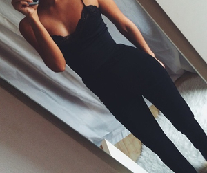 black, body, and jumpsuit image