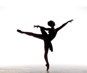 ballet, black, and dancer image