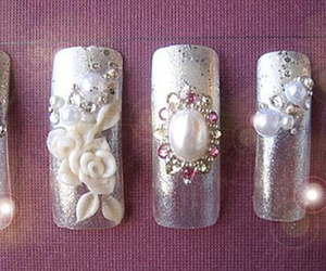 3d nails, 3d nail designs, and 3d nail art designs image