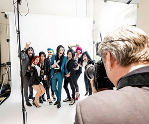 black veil brides, andy biersack, and band image